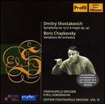 Shostakovich: Symphony No. 15 in A major Op. 141; Chaykovsky: Variations for Orchestra