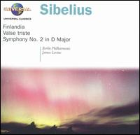Sibelius: Finlandia; Valse triste; Symphony No. 2 - Berlin Philharmonic Orchestra; James Levine (conductor)