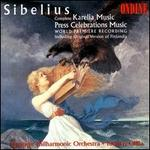 Sibelius: Karelia Music; Press Celebration Music