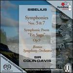 Sibelius: Symphonies Nos. 5 & 7; En Saga