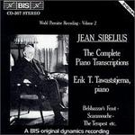 Sibelius: The Complete Piano Transcriptions, Vol. 2