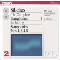 Sibelius The Complete Symphonies - Boston Symphony Orchestra; Colin Davis (conductor)