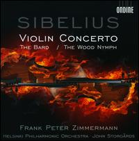 Sibelius: Violin Concerto; The Wood Nymph - Frank Peter Zimmermann (violin); Helsinki Philharmonic Orchestra; John Storg�rds (conductor)