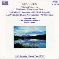 Sibelius: Violin Concerto - Dong-Suk Kang (violin); Czecho-Slovak Radio Symphony Orchestra; Adrian Leaper (conductor)