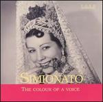 Simionato: The Colour of a Voice