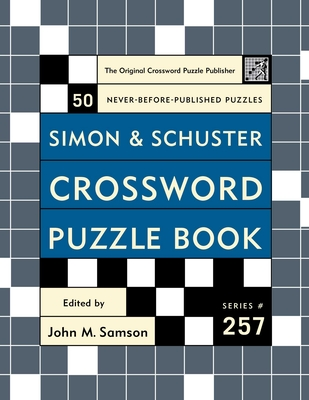 Simon and Schuster Crossword Puzzle Book - Samson, John M (Editor)