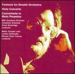 Simon Bainbridge: Fantasia; Concertante in Moto Perpetuo; Viola Concerto