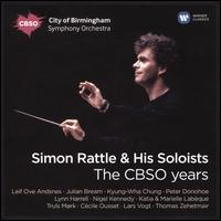 Simon Rattle & His Soloists: The CBSO Years - Cécile Ousset (piano); Glenn Gould (candenza); Jean-Pierre Drouet (percussion); Julian Bream (guitar); Katia Labèque (piano);...