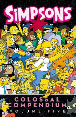 Simpsons Comics Colossal Compendium, Volume 5 - Groening, Matt