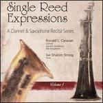 Single Reed Expressions: A Clarinet & Saxophone Recital Series, Vol. 1