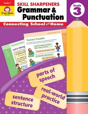 Skill Sharpeners Grammar and Punctuation, Grade 3 - Evan-Moor