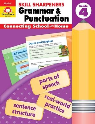 Skill Sharpeners Grammar and Punctuation, Grade 4 - Evan-Moor
