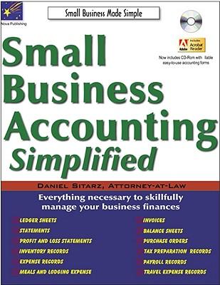 Small Business Accounting Simplified - Sitarz, Daniel