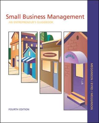 Small Business Management: An Entrepreneur's Guidebook with CD Business Plan Templates - Megginson, Leon C