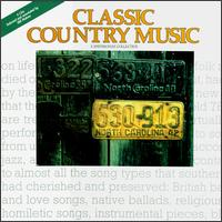 Smithsonian Collection of Classic Country Music, Vol. 1 - Various Artists