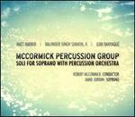 Soli for Soprano with Percussion Orchestra