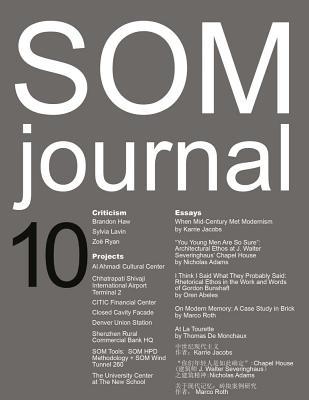 SOM Journal 10 - De Monchaux, Thomas (Editor)