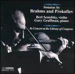 Sonatas by Brahms and Prokofiev