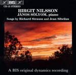 Songs by Richard Strauss and Jean Sibelius