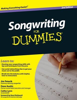 Songwriting for Dummies - Peterik, Jim
