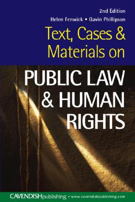 Sourcebook on public law - Fenwick, Helen, and Philipson, Gavin