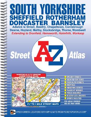 South Yorkshire Street Atlas -