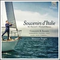 Souvenirs d'Italie: Count Harrach's Musical Diaries - Daniele Caminiti (theorbo); David Bergmüller (guitar); David Bergmüller (theorbo); Fiorenza de Donatis (violin);...