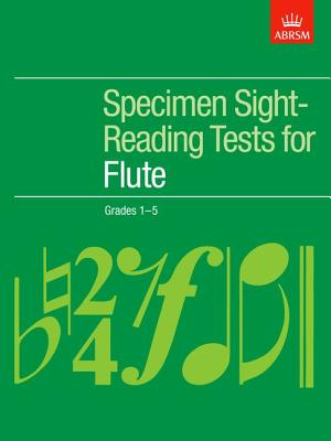 Specimen Sight-Reading Tests for Flute: Grades 1-5 -