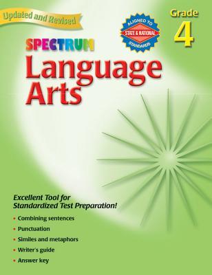 Spectrum Language Arts: Grade 4 - Frank Schaffer Publications (Creator)