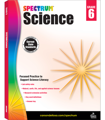 Spectrum Science, Grade 6 - Spectrum (Compiled by)