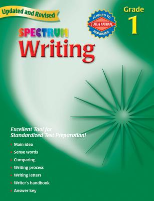 Spectrum Writing: Grade 1 - Spectrum