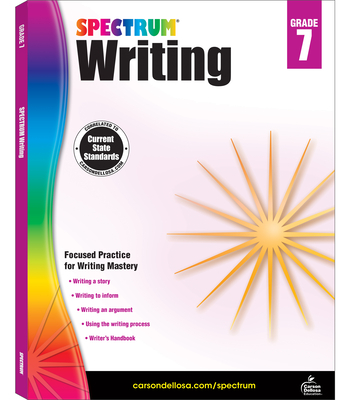 Spectrum Writing, Grade 7 - Spectrum (Compiled by)