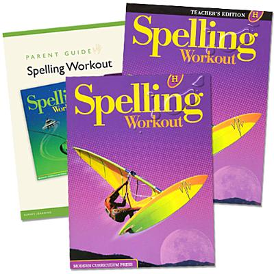 Spelling Workout Homeschool Bundle, Level H - Modern Curriculum Press (Creator)