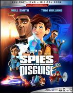Spies in Disguise [Includes Digital Copy] [Blu-ray/DVD]