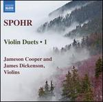 Spohr: Violin Duets, Vol. 1