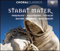 Stabat Mater: Pergolesi, Palestrina, Vivaldi, Haydn, Dvorák, Boccherini - Angharad Gruffydd Jones (soprano); Barbara Vignudelli (soprano); Claes-Håkan Ahnsjo (tenor); Ivo Zídek (tenor);...