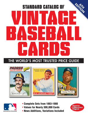 Standard Catalog of Vintage Baseball Cards - Sports Collectors Digest