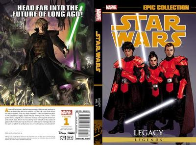 Star Wars Legends Epic Collection: Legacy, Volume 1 - Ostrander, John (Text by), and Duursema, Jan (Text by)
