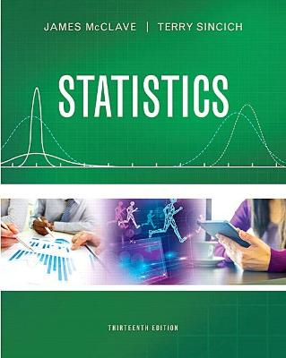 Statistics - McClave, James T, and Sincich, Terry T