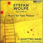 Stefan Wolpe, Vol. 8: Music for Two Pianos