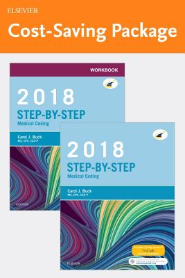 Step-By-Step Medical Coding, 2018 Edition - Text and Workbook Package - Buck, Carol J, MS, Cpc