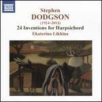 Stephen Dodgson: 24 Inventions for Harpsichord