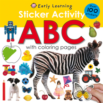 Sticker Activity: ABC - Priddy Books (Creator)