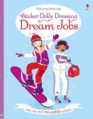 Sticker Dolly Dressing Dream Jobs - Watt, Fiona