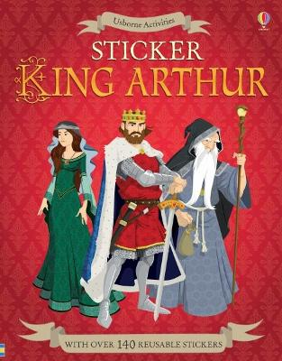 Sticker King Arthur - Reid, Struan