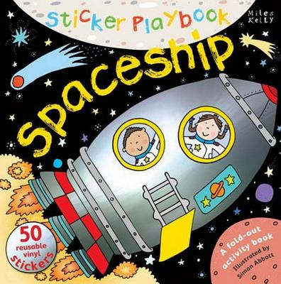 Sticker Playbook Spaceship - Gallagher, Belinda (Editor)