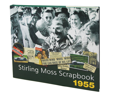 Stirling Moss Scrapbook 1955 - Moss, Stirling, Sir, OBE, and Porter, Philip