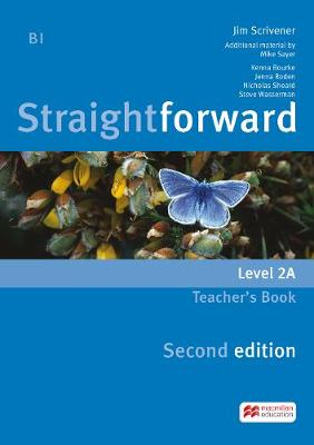 Straightforward - Level 2 - B1 - Teacher's Book Pack A - Scrivener, Jim