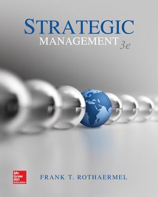 Strategic Management - Rothaermel, Frank