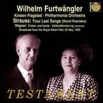 "Strauss: Four Last Songs; Wagner"" Excerpts from Tristan und Isolde & Götterdämmerung"